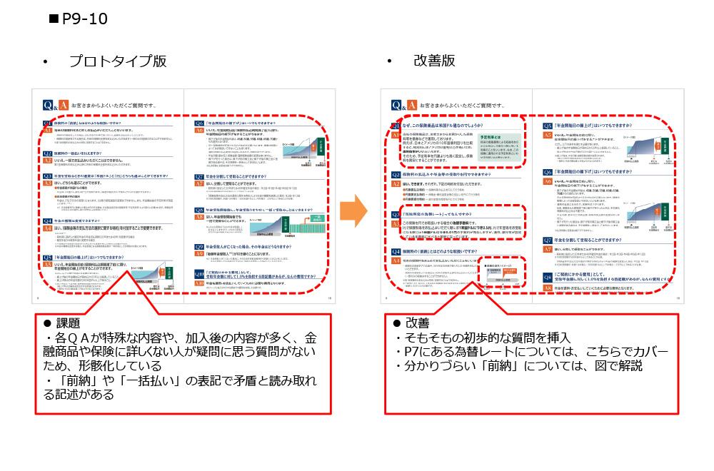 P9-10 プロトタイプ版→改善版